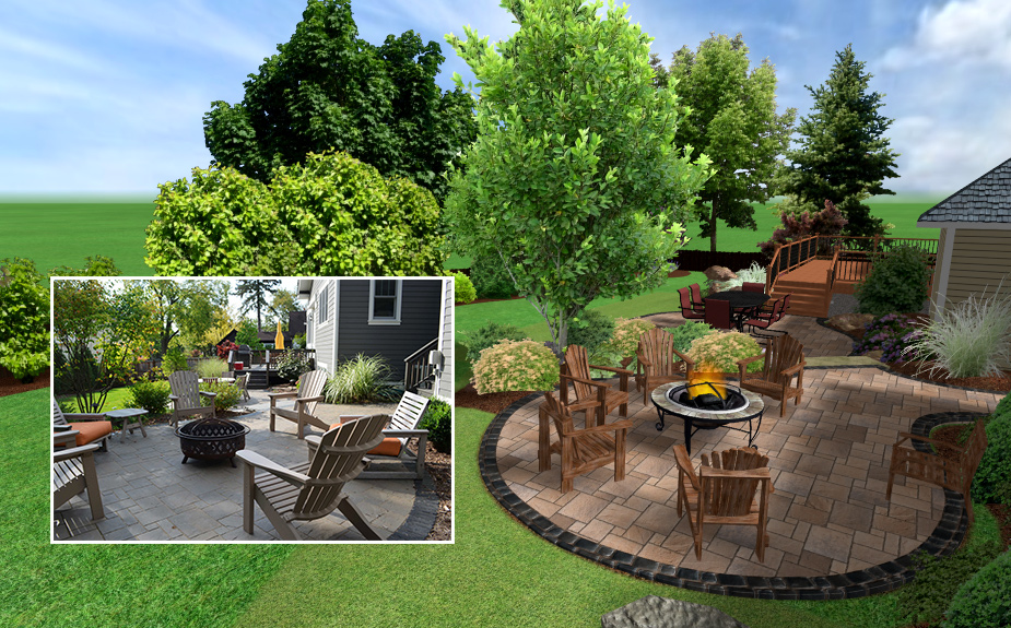 Landscape design software save time and money by allowing for design  refinement before landscape installation. - Landscaping Landscape Design Software Landscape Creations