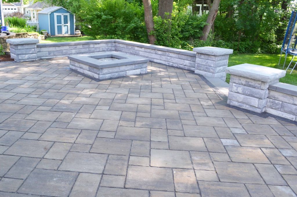 unilock brick pavers