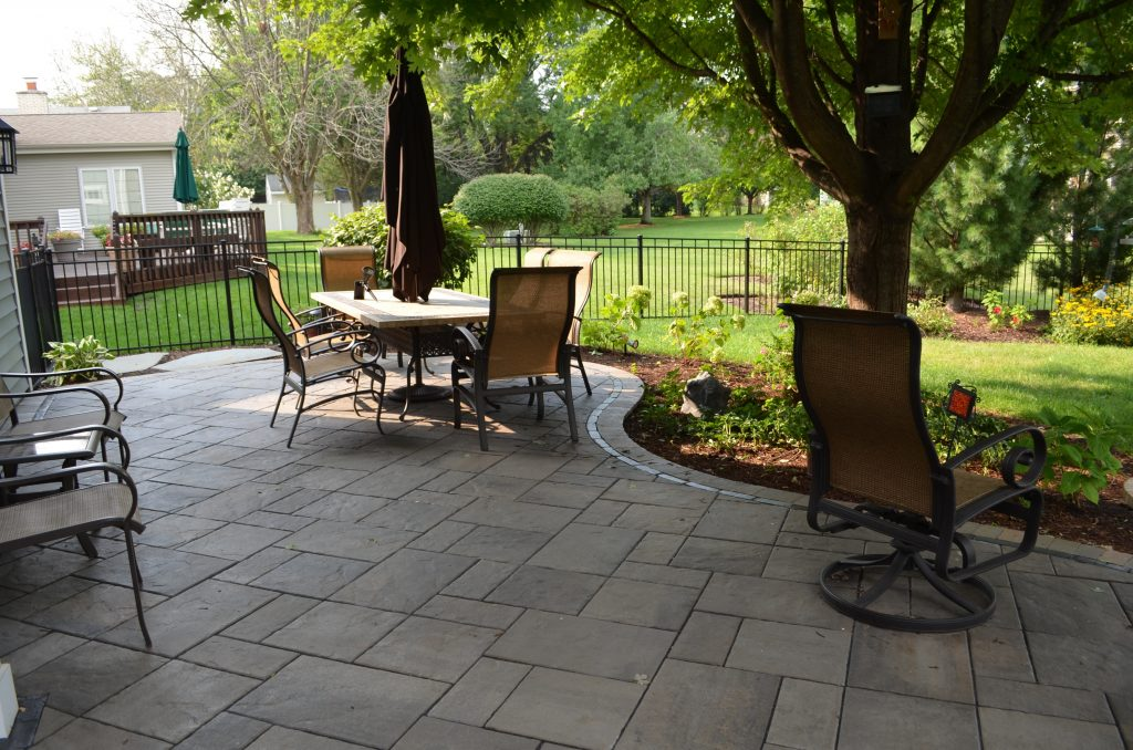 paver deck patio