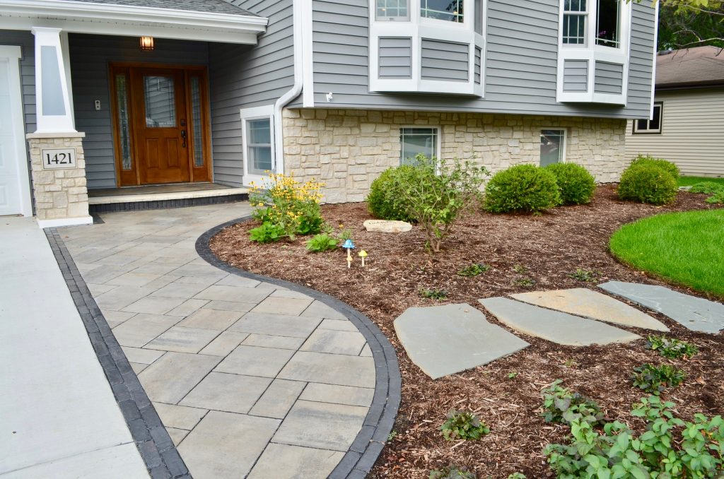 Wheaton, IL landscape project
